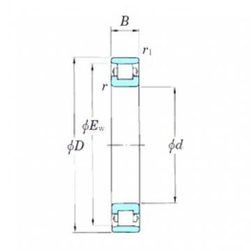 130 mm x 200 mm x 33 mm  KOYO 3NCN1026 cylindrical roller bearings