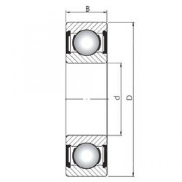 10 mm x 35 mm x 11 mm  ISO 6300 ZZ deep groove ball bearings