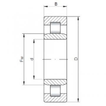 150 mm x 320 mm x 108 mm  ISO NU2330 cylindrical roller bearings