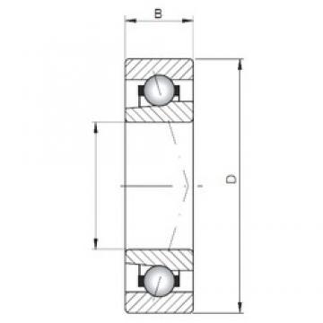 Loyal 7026 CTBP4 angular contact ball bearings