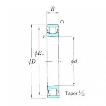 130 mm x 200 mm x 33 mm  KOYO 3NCN1026K cylindrical roller bearings