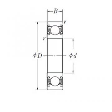 130 mm x 200 mm x 33 mm  NSK 6026DDU deep groove ball bearings