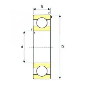 120 mm x 260 mm x 55 mm  ISB 6324 deep groove ball bearings