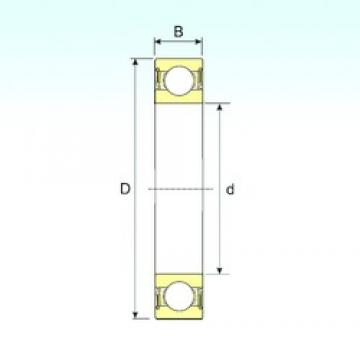 10 mm x 35 mm x 11 mm  ISB 6300-2RS deep groove ball bearings