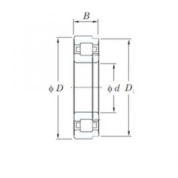 120 mm x 260 mm x 55 mm  KOYO NUP324 cylindrical roller bearings