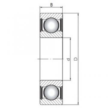 10 mm x 35 mm x 11 mm  Loyal 6300-2RS deep groove ball bearings