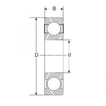 120 mm x 260 mm x 55 mm  SIGMA 6324 deep groove ball bearings