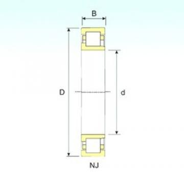 150 mm x 320 mm x 108 mm  ISB NJ 2330 cylindrical roller bearings