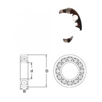 10 mm x 35 mm x 11 mm  ZEN P6300-SB deep groove ball bearings
