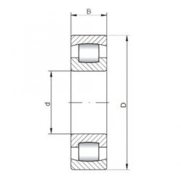 120 mm x 260 mm x 55 mm  ISO 20324 spherical roller bearings