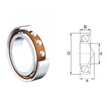 10 mm x 35 mm x 11 mm  ZEN S7300B angular contact ball bearings