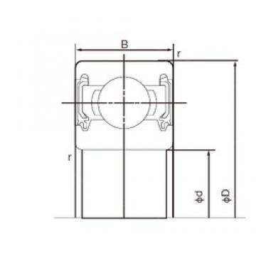 10 mm x 35 mm x 11 mm  NACHI 6300-2NKE deep groove ball bearings