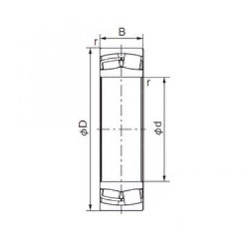 120 mm x 260 mm x 55 mm  NACHI 21324E cylindrical roller bearings