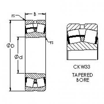 AST 22330CKW33 spherical roller bearings