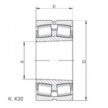 150 mm x 320 mm x 108 mm  ISO 22330 KW33 spherical roller bearings