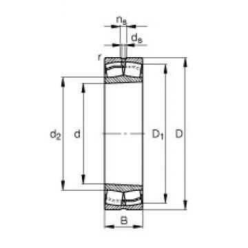 150 mm x 320 mm x 108 mm  FAG 22330-E1-K-T41A spherical roller bearings