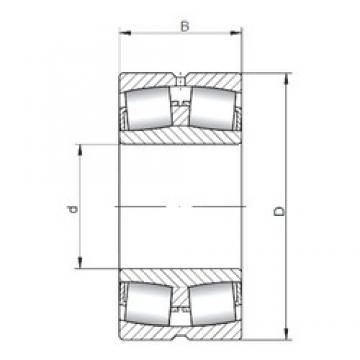 150 mm x 320 mm x 108 mm  ISO 22330W33 spherical roller bearings
