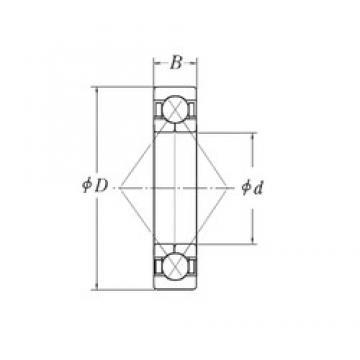130 mm x 200 mm x 33 mm  CYSD QJ1026 angular contact ball bearings