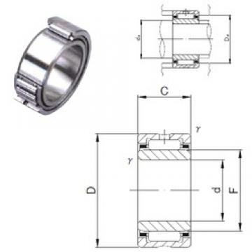 120 mm x 165 mm x 45 mm  JNS NA 4924 needle roller bearings