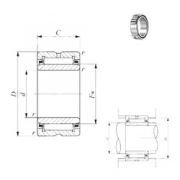 120 mm x 165 mm x 45 mm  IKO NA 4924 needle roller bearings