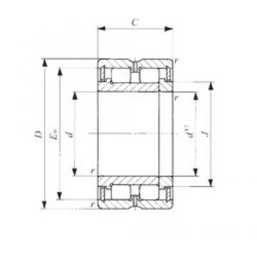 120 mm x 165 mm x 45 mm  IKO NAG 4924 cylindrical roller bearings