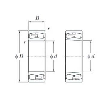 150 mm x 320 mm x 108 mm  KOYO 22330RHA spherical roller bearings