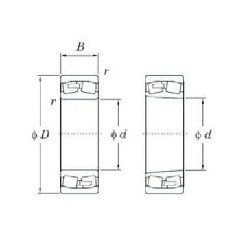 150 mm x 320 mm x 108 mm  KOYO 22330R spherical roller bearings