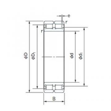 120 mm x 165 mm x 45 mm  NACHI RC4924 cylindrical roller bearings